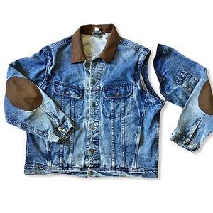 NEVADA Oversized Jean Jacket Patch Removable Arms